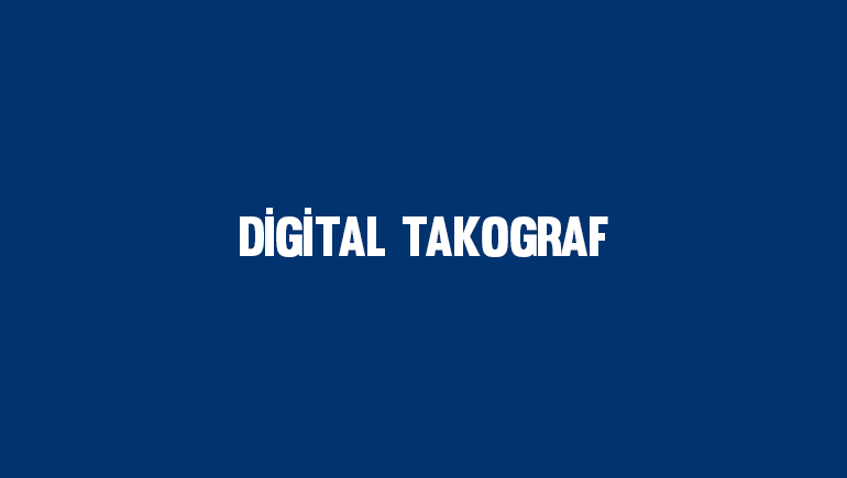Digital Takograf